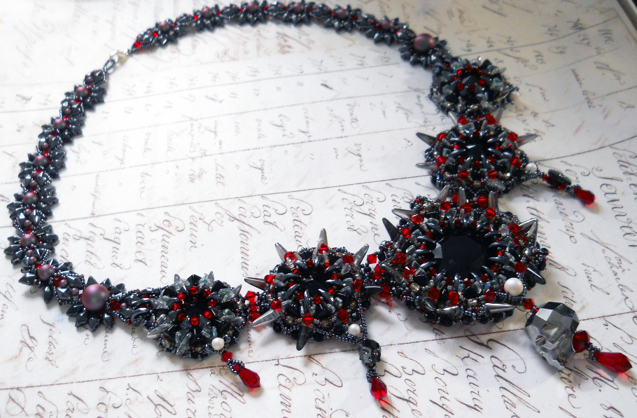 Demagogue's Beacon Beaded Jewelry by Odin's Bead Hall