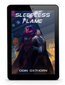 Ebook Cover Promo Image for Sleepless Flame