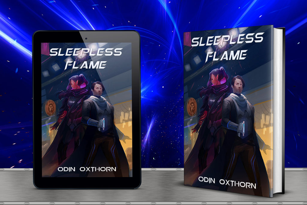 Front Cover of Sleepless Flame by Odin Oxthorn