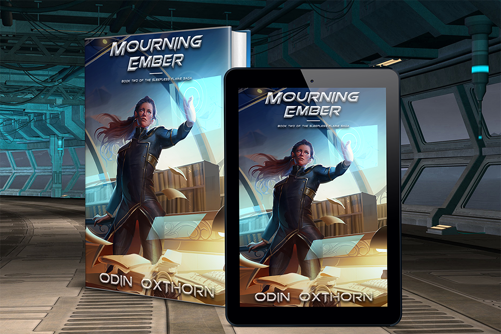Book cover of Mourning Ember